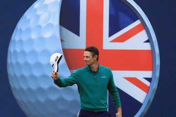 Justin Rose Sky Sports British Masters - Day Two
