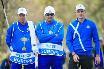 Justin Rose Mark Fulcher Afternoon Foursomes
