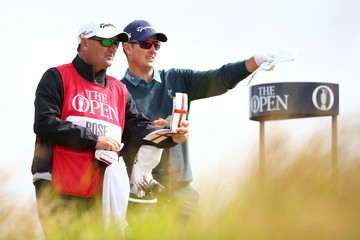 Justin Rose Mark Fulcher 144th Open Championship - Day One