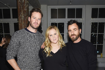 Justin Theroux Amy Schumer & Leesa Evans Host Le Cloud Launch Event With Saks OFF 5TH