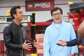 Justin Theroux Cast Photo Call for Warner Bros. Pictures' 'The LEGO Ninjago Movie'