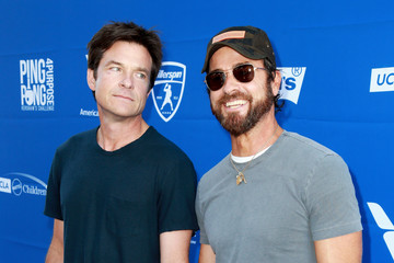 Justin Theroux Clayton Kershaw's 5th Annual Ping Pong 4 Purpose Celebrity Tournament