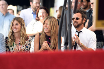 Justin Theroux Jason Bateman Honored With Star on the Hollywood Walk of Fame