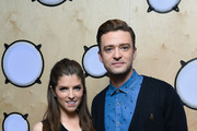Justin Timberlake and Anna Kendrick visit Bauer Radio on September 30, 2016 in London, England.