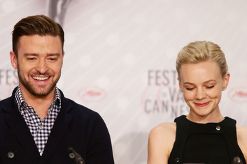 Justin Timberlake Carey Mulligan 'Inside Llewyn Davis' Press Conference in Cannes