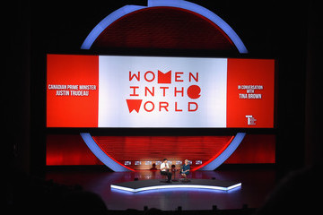 Justin Trudeau Eighth Annual Women in the World Summit