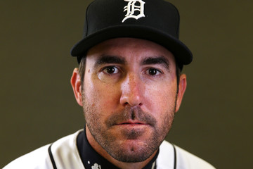Justin Verlander Detroit Tigers Photo Day