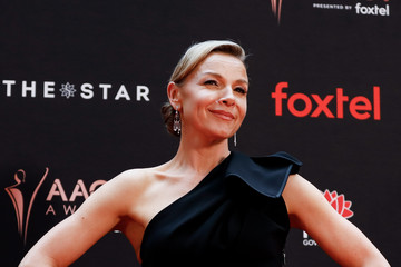 Justine Clarke Celebrities Attend the 2019 AACTA Awards at The Star