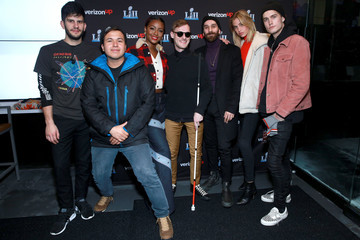 Justine Skye Meredith Mickelson The X Ambassadors Perform on the Verizon Up Stage at Super Bowl LIVE