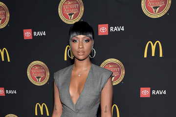 Justine Skye The Bounce Trumpet Awards 2019 - Red Carpet