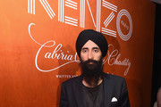 "Waris Ahluwalia attends KENZO, Humberto Leon, Carol Lim And Natasha Lyonne Premiere ""Cabiria, Charity, Chastity"" In New York City at Public Arts on September 13, 2017 in New York City."