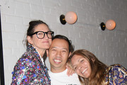 Jenna Lyons, Humberto Leon and Courtney Crangi attend 'The Realest Real' A Film by Carrie Brownstein presented by KENZO at The Metrograph on September 12, 2016 in New York City.