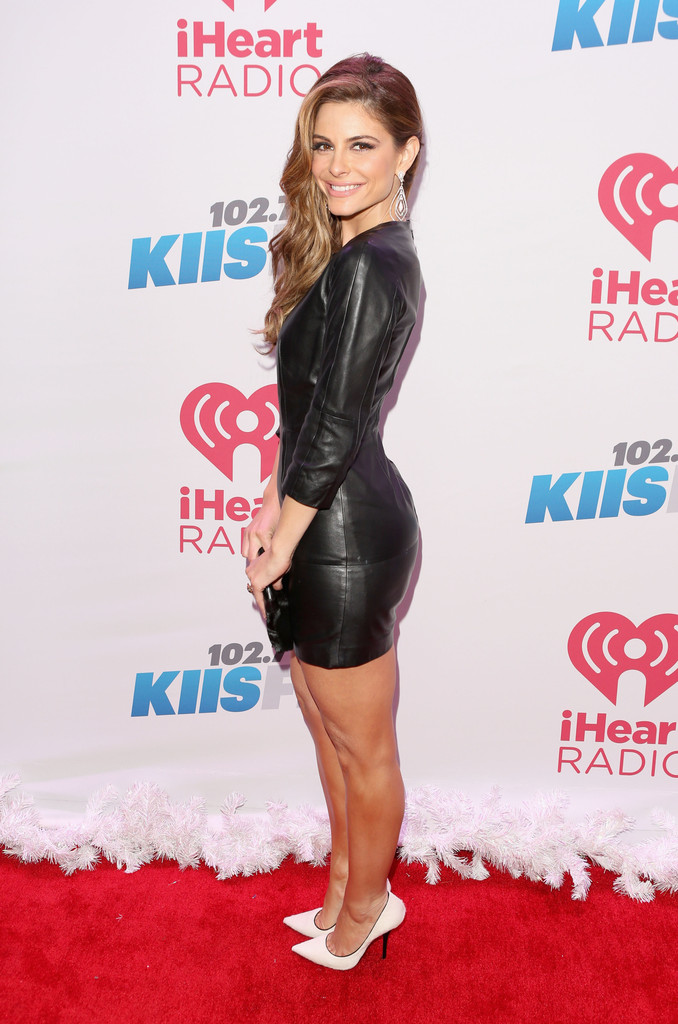 TV personality Maria Menounos attends KIIS FM's Jingle Ball 2013 at Staples Center on December 6, 2013 in Los Angeles, CA.