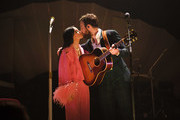 Kacey Musgraves and Ruston Kelly perform at the Ryman Auditorium on February 27, 2019 in Nashville, Tennessee.