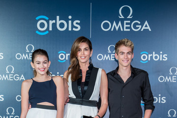 Kaia Gerber OMEGA Screens Asian Premiere of the Hospital in the Sky Movie in Hong Kong