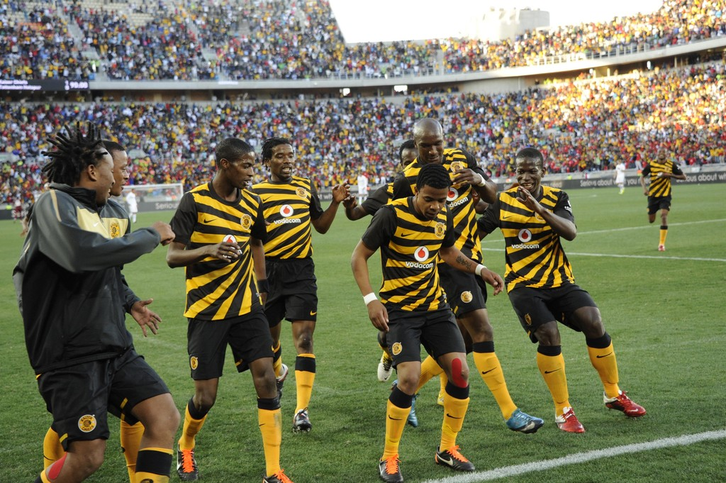 Kaizer Chiefs: George Lebese In Kaizer Chiefs V Tottenham Hotspur