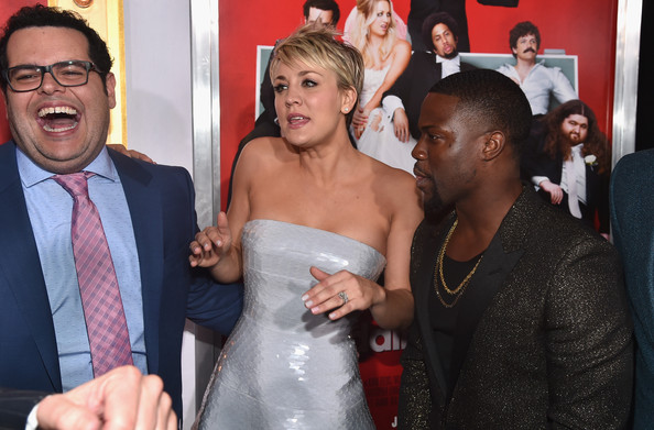 The Wedding Ringer.Kaley Cuoco And Kevin Hart Photos Photos The Wedding Ringer