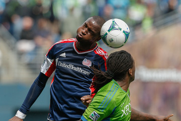 Kalifa Cisse New England Revolution v Seattle Sounders