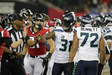 Kam Chancellor Divisional Round - Seattle Seahawks v Atlanta Falcons