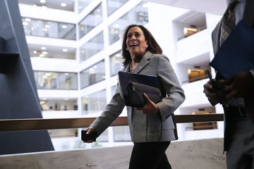 Kamala Harris Senate Intelligence Committee Holds Closed Briefing