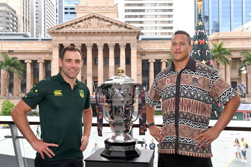 Kane Evans Australia & Fiji Rugby League World Cup Civic Reception