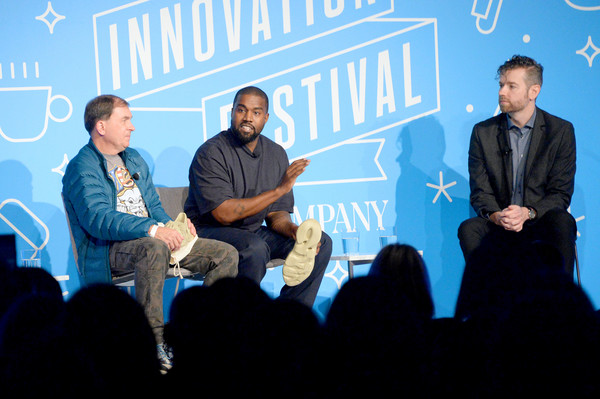 Image result for kanye west on fast company innovation festival