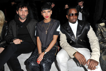 Cassie Sean Combs Kanye West Show : Front Row at Paris Fashion Week