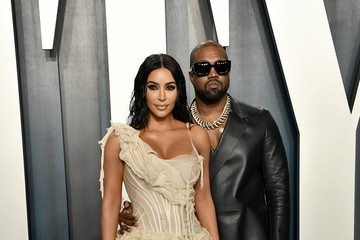 Kanye West 2020 Vanity Fair Oscar Party Hosted By Radhika Jones - Arrivals