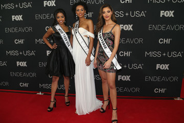 Kara McCullough Demi-Leigh Nel-Peters 2018 Miss USA Competition - Arrivals