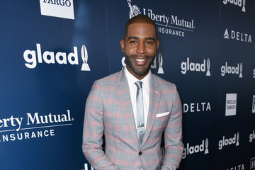 Karamo Brown 28th Annual GLAAD Media Awards in LA - Red Carpet & Cocktails