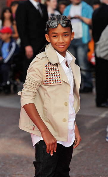 Jaden Smith attends the UK Film Premiere of The Karate Kid at Odeon Leicester Square on July 15, 2010 in London, England.