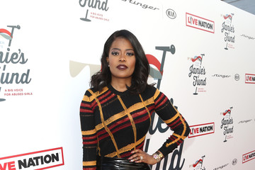 Karen Civil Steven Tyler And Live Nation Presents Inaugural Janie's FundGala & GRAMMY Viewing Party