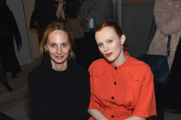 Karen Elson Proenza Schouler - Front Row - February 2019 - New York Fashion Week