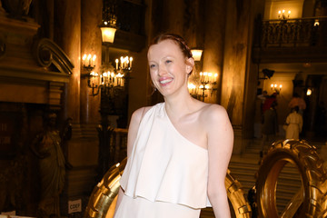 Karen Elson Stella McCartney: Front Row- Paris Fashion Week Womenswear Fall/Winter 2019/2020