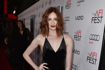 Karen Gillan Celebs Attend the Closing Night Gala Premiere of Paramount Pictures' 'The Big Short' - Red Carpet
