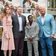 Karen Gillan Kevin Hart Hand And Footprint Ceremony At the TCL Chinese Theatre IMAX