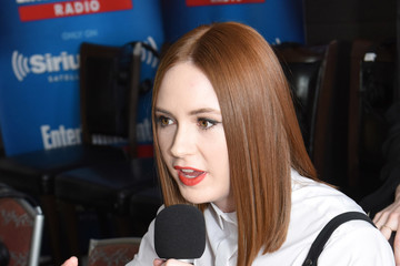 Karen Gillan SiriusXM's Entertainment Weekly Radio Channel Broadcasts From Comic-Con 2016 - Day 3
