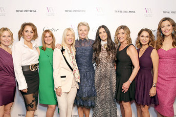 Karen Murphy O'Brien Visionary Women Honors Demi Moore In Celebration Of International Women's Day