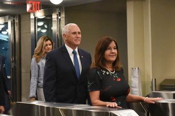 Karen Pence World Leaders Address The United Nations General Assembly