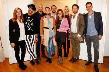 Karen Webb Petra Winter Guests at the s.Oliver Press Day in Munich