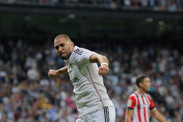 Karim Benzema Real Madrid CF v Athletic Club - La Liga