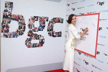 Karina Smirnoff Annual Charity Day Hosted By Cantor Fitzgerald, BGC and GFI - BGC Office - Arrivals