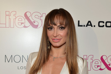 Karina Smirnoff Arrivals at Life & Style Weekly's 10-Year Anniversary Party