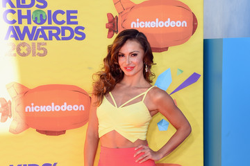 Karina Smirnoff Nickelodeon's 28th Annual Kids' Choice Awards - Arrivals