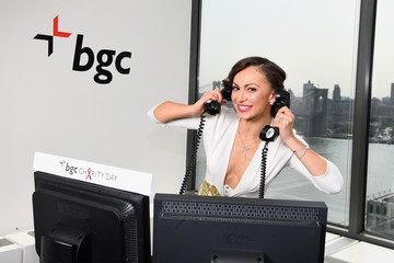 Karina Smirnoff Annual Charity Day Hosted By Cantor Fitzgerald, BGC and GFI - BGC Office - Inside