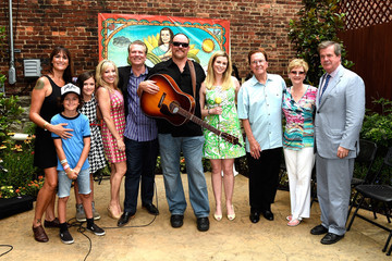 Karl Dean Guests Enjoy the June Carter Cash Birthday Celebration at The Opening Of The Wildwood Flower Garden
