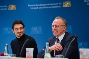 Karl-Heinz Rummenigge Bayern Muenchen Informs on Climate Protection Projects