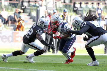 Karl Joseph New England Patriots v Oakland Raiders