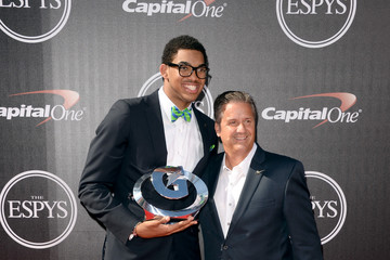 Karl Towns Arrivals at the ESPYS — Part 4