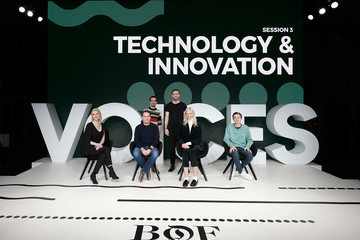 Karlie Kloss Imran Amed The Business of Fashion Presents VOICES 2017 - Day 1
